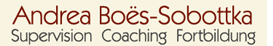 Andrea Boes-Sobottka Supervision Coaching Fortbildung